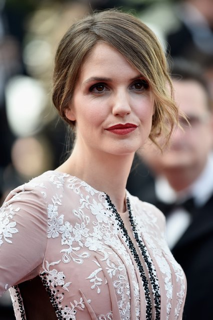 """Director Delphine Gleize attends the opening ceremony and premiere of """"La Tete Haute"""" (Standing Tall) during the 68th annual Cannes Film Festival on May 13, 2015 in Cannes, France. (Photo by Pascal Le Segretain/Getty Images)"""
