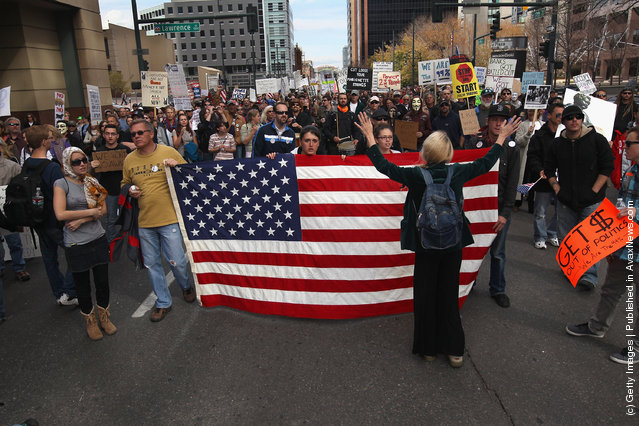 Occupy Denver protesters