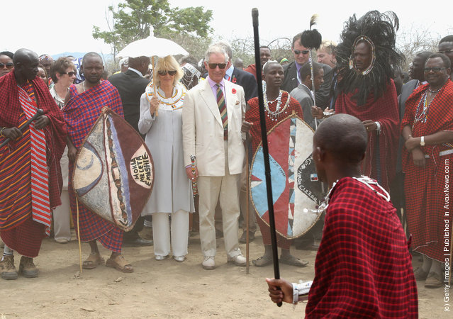 Camilla, Duchess Of Cornwall And Prince Charles Visit Tanzania