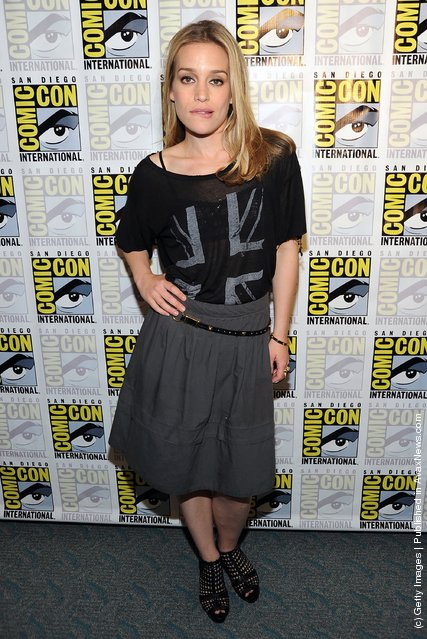 Actress Piper Perabo poses at 'Covert Affairs' Panel during Comic-Con 2011