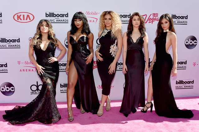 (L-R) Recording artists  Ally Brooke, Normani Hamilton, Dinah-Jane Hansen, Lauren Jauregui and Camila Cabello of Fifth Harmony attend the 2016 Billboard Music Awards at T-Mobile Arena on May 22, 2016 in Las Vegas, Nevada. (Photo by David Becker/Getty Images)