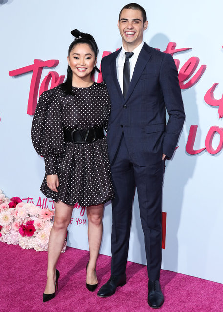 """Los Angeles Premiere Of Netflix's """"To All The Boys: P.S. I Still Love You"""" held at the Egyptian Theatre on February 3, 2020 in Hollywood, Los Angeles, California, United States. Pictured: Lana Condor, Noah Centineo. (Photo by Xavier Collin/Image Press Agency)"""