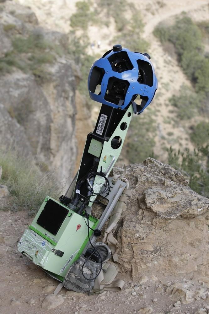 Google Takes Street View Tech Into the Grand Canyon