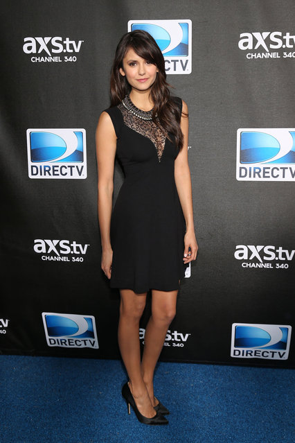 Nina Dobrev attends DIRECTV Super Saturday Night Featuring Special Guest Justin Timberlake & Co-Hosted By Mark Cuban's AXS TV on February 2, 2013 in New Orleans, Louisiana. (Photo by Neilson Barnard/DirecTV)