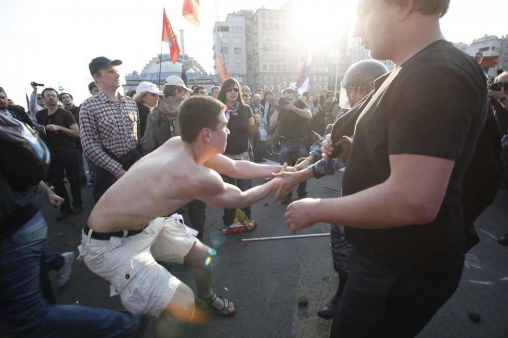 """Thousands Rally in Russia for """"Bolotnaya"""" Prisoners"""