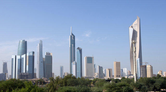 22: Kuwait's Al Hamra Tower. Height: 1,354 ft. (Photo by Stephanie Mcgehee/Reuters)