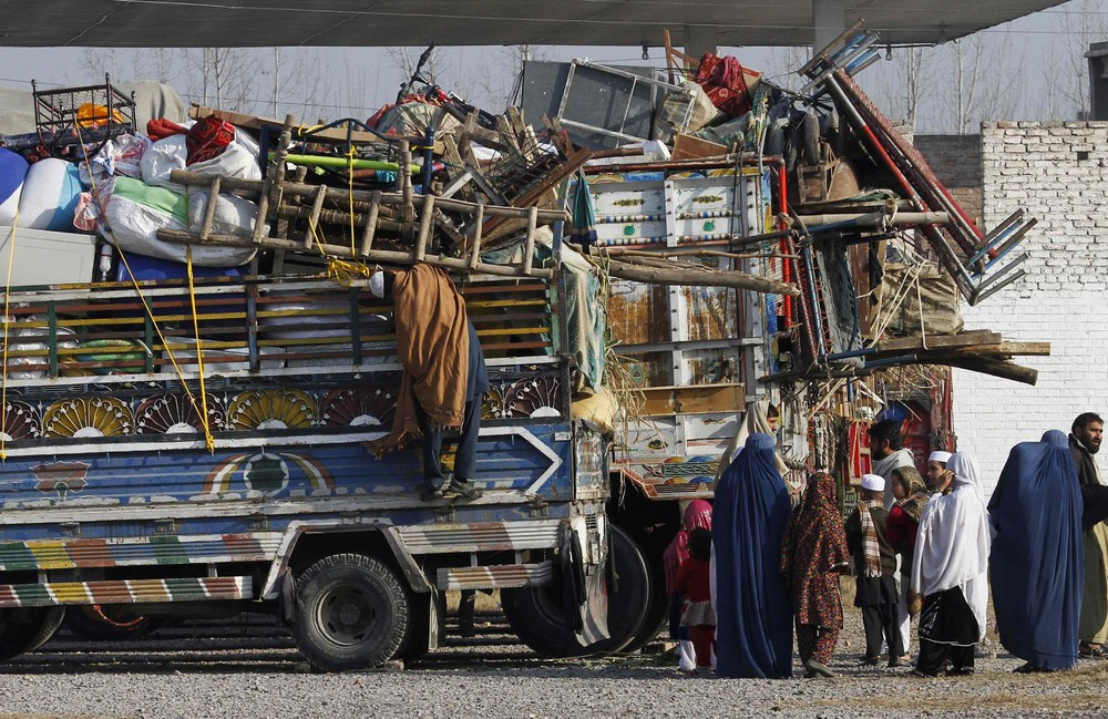 Afghans Ordered out of Pakistan