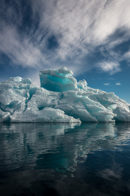 Greenland Reflection By Michael Quinn