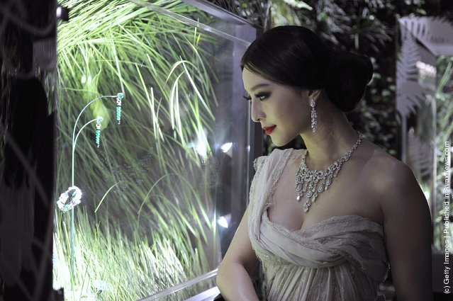 Fan Bingbing attends the new High Jewellery Collection