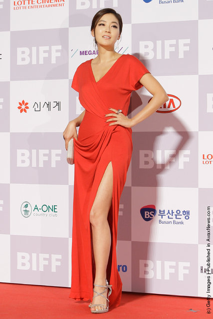 Actress Park Jin-Hee
