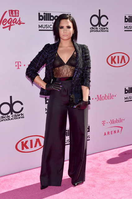 Singer Demi Lovato attends the 2016 Billboard Music Awards at T-Mobile Arena on May 22, 2016 in Las Vegas, Nevada. (Photo by David Becker/Getty Images)
