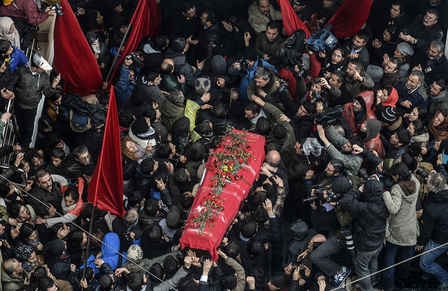 The death of Berkin Elvan -- a Turkish teenager who died after being hit by a tear-gas canister on his way to buy a loaf of bread during last summer's Gezi protests-- has once again fed anti-government sentiment in the country.