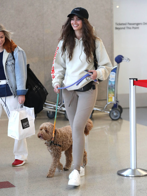 Taylor Hill is seen on January 21, 2020 in Los Angeles, California. (Photo by SMXRF/Star Max/GC Images)