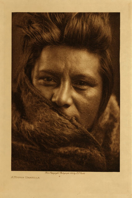 A young Umatilla in 1910. (Photo by Edward S. Curtis)