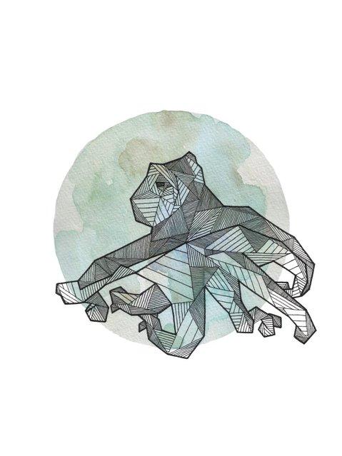 Geometric Animals By Allison Kunath