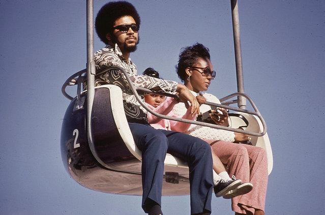 At an amusement park in Santa Cruz, California, May 1972. (Photo by Dick Rowan/NARA via The Atlantic)