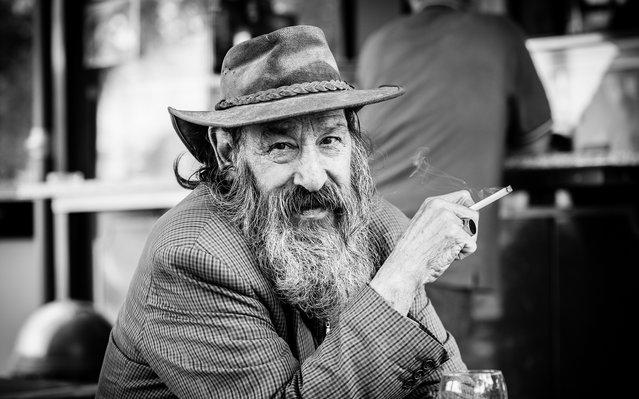 """""""In beard and hat""""; Udine, Friuli-Venezia Giulia, Italy, 2013. (Giulio Magnifico)"""
