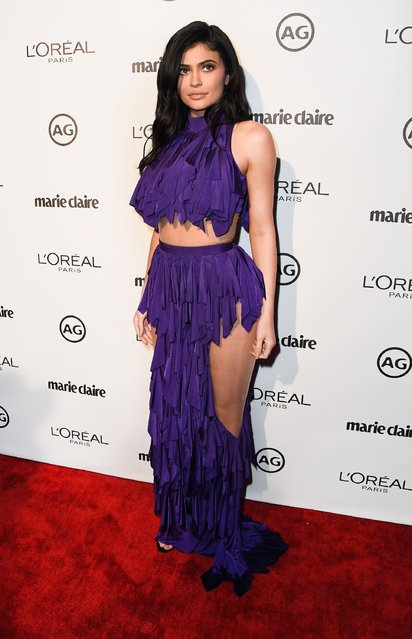 TV personality Kylie Jenner attends Marie Claire's Image Maker Awards 2017 at Catch LA on January 10, 2017 in West Hollywood, California. (Photo by Frazer Harrison/Getty Images)