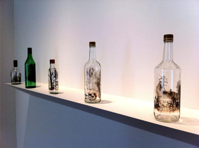 The Bottled Smoke Artworks By Jim Dingilian