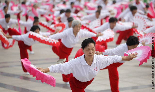 China Marks National Fitness Day