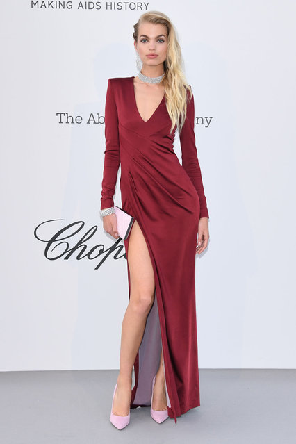 Daphne Groenevald attends the amfAR Cannes Gala 2019 at Hotel du Cap-Eden-Roc on May 23, 2019 in Cap d'Antibes, France. (Photo by Daniele Venturelli/Getty Images for amfAR)