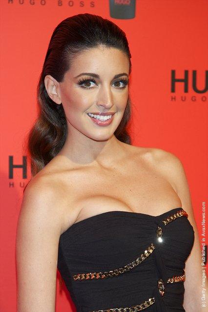 Spanish model Noelia Lopez attends Hugo Boss night party 2011