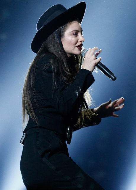 Recording artist Lorde performs onstage during the 2014 Billboard Music Awards at the MGM Grand Garden Arena on May 18, 2014 in Las Vegas, Nevada. (Photo by Christopher Polk/Billboard Awards 2014/Getty Images for DCP)
