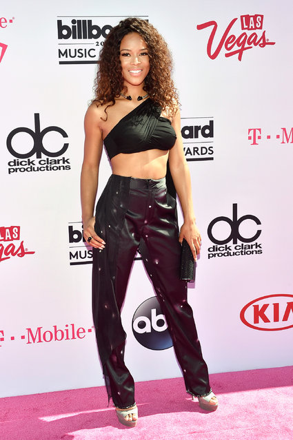 Recording artist Serayah attends the 2016 Billboard Music Awards at T-Mobile Arena on May 22, 2016 in Las Vegas, Nevada. (Photo by David Becker/Getty Images)