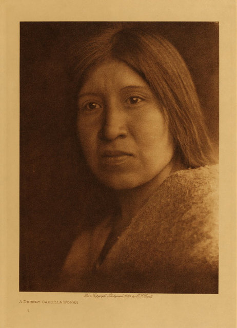 A Cahuilla woman in 1924. (Photo by Edward S. Curtis)