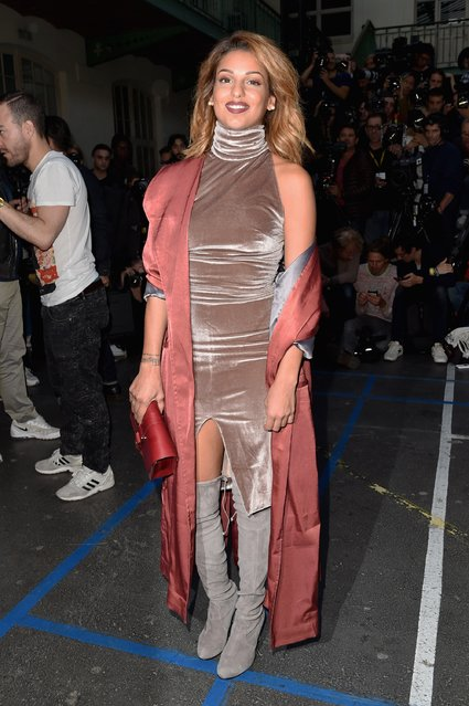 Tal Benyerzi attends the John Galliano  show as part of the Paris Fashion Week Womenswear Spring/Summer 2017  on October 2, 2016 in Paris, France. (Photo by Pascal Le Segretain/Getty Images)