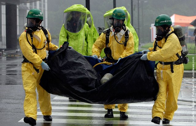 South Korea Hold Anti-Terror Drill