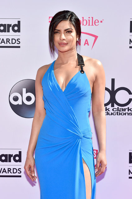 Actress Priyanka Chopra attends the 2016 Billboard Music Awards at T-Mobile Arena on May 22, 2016 in Las Vegas, Nevada. (Photo by David Becker/Getty Images)