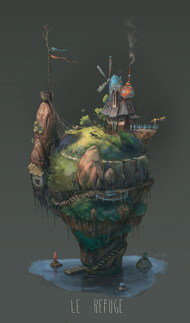 Imaginary Islands By Pierre Antoine Moelo
