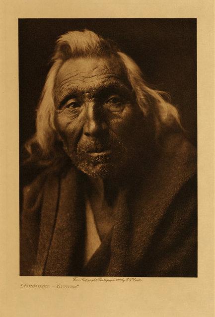 A Kittitas man in 1910. (Photo by Edward S. Curtis)