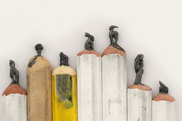 Pencil Carvings By Diem Chau