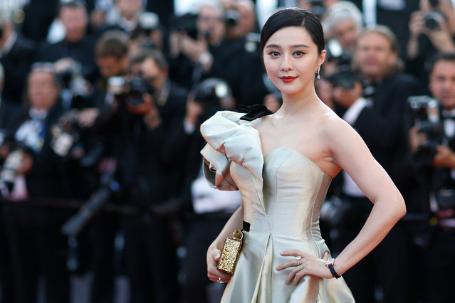 """Chinese actress Fan Bingbing arrives for the screening of the film """"Ash Is Purest White"""" in competition at the 71st Cannes Film Festival in Cannes, France on May 11, 2018. (Photo by Stephane Mahe/Reuters)"""