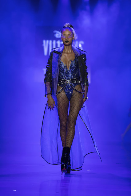 The Blonds spring 2019 collection with a Disney villains theme is modeled during Fashion Week Friday, September 7, 2018. (Photo by Kevin Hagen/AP Photo)