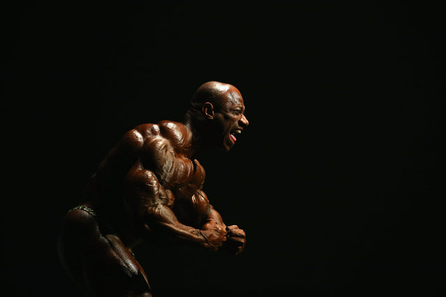 Dexter Jackson of the USA poses during the Arnold Classic Australia at The Melbourne Convention and Exhibition Centre on March 14, 2015 in Melbourne, Australia. (Photo by Robert Cianflone/Getty Images)
