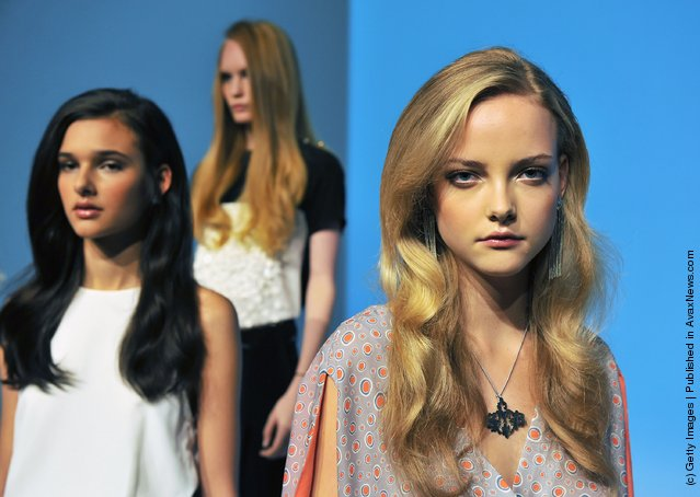 Sachin Babi Presentation Spring 2012 Mercedes-Benz Fashion Week