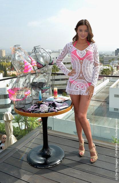 Miranda Kerr Launch The 2012 VS Swim Collection
