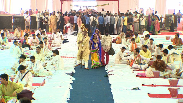 wedding, mass wedding, handicapped wedding, social service, ngo, delhi