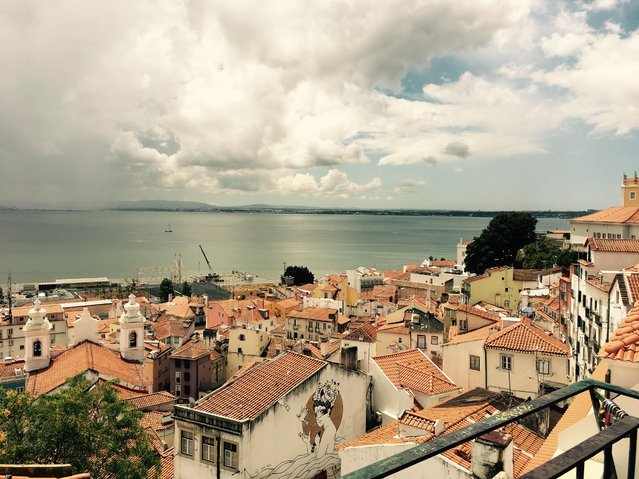 In Lisbon, Shadi Salehi, 32, of the District, captured this scene from Sao Miguel while she was on a walking tour of the city. (Photo by Shadi Salehi/2017 Washington Post Travel Photo Contest)