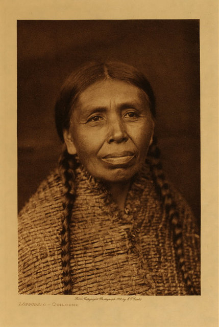 A Quilcene in 1912. (Photo by Edward S. Curtis)