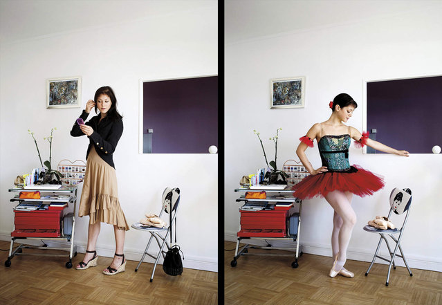 Claire is a dancer from Paris. (Photo by Bruno Fert/Picturetank)