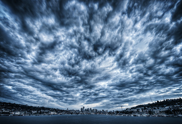 """Super Storm Seattle"". (Photo and comment by Dave Morrow)"