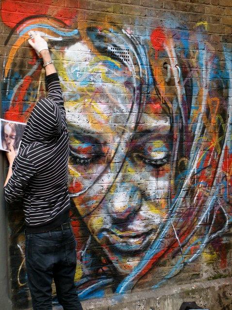 Spray Painting Art By David Walker