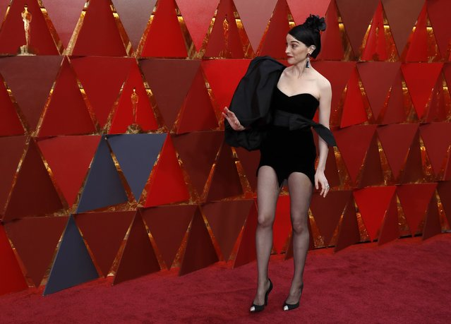 Musician St Vincent attends the 90th Annual Academy Awards at Hollywood & Highland Center on March 4, 2018 in Hollywood, California. (Photo by Carlo Allegri/Reuters)