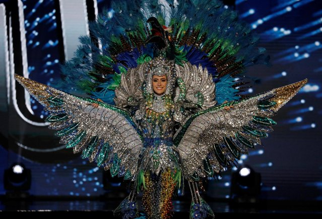 Miss Universe candidate from Nicaragua Marina Jacoby competes during a national costume preliminary competition in Pasay, Metro Manila, Philippines January 26, 2017. (Photo by Erik De Castro/Reuters)