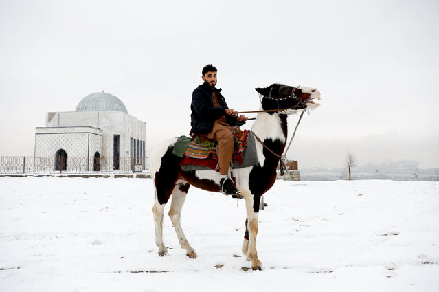 Doctor Mohammad Jawed Momand, 22, poses for a picture in Kabul, Afghanistan, January 30, 2019. (Photo by Mohammad Ismail/Reuters)