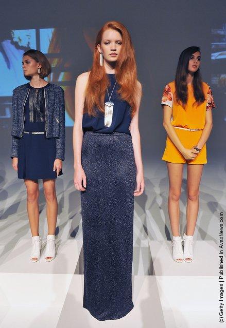 Sachin Babi Presentation Spring 2012 Mercedes-Benz Fashion Week